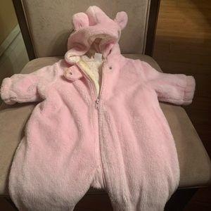 Pink fluffy getup